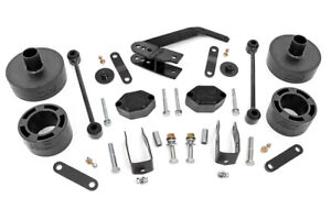 Rough Country 2 5 Lift Kit Fits 07 18 Jeep Wrangler Jk Series Ii Suspension