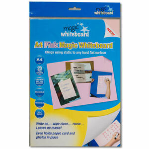 Magic Whiteboard Products Letter Sheet Wall Mounted Whiteboard