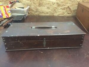 Vintage Surgeons Field Kit Wooden Box Filled W Various Medical Tools