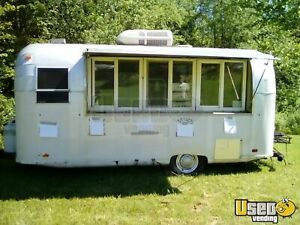 1963 7 X 15 Vintage Food Concession Trailer For Sale In West Virginia