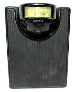Vintage Antique Detecto Series Floor Scale Tested For Accuracy