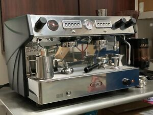 Espresso Machine 2 Group Automatic With Built in Cup Warmer Brasilia Cadetta 2