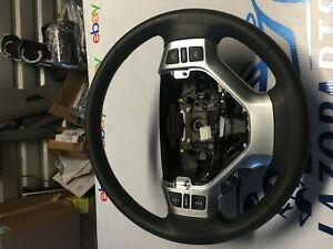 2006 2008 Honda Ridgeline Black Steering Wheel Leather Oem