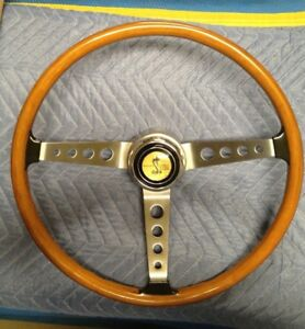 Original 1967 Shelby Gt350 Gt500 Steering Wheel Restored Cobra Mustang Ford