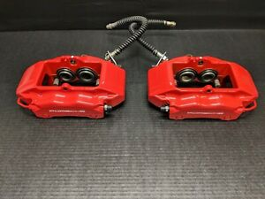 06 12 Porsche Cayman S 987 3 4l Front Brake Calipers Pair Set Brembo W 37k Miles