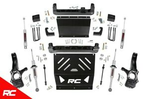 Rough Country 6 Lift Kit Fit 2016 2019 Chevy Colorado Canyon 4wd Suspension S