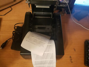 Posiflex Pp 7000 b Pos Receipt Printer Self Test Passed Thermal With Cutter