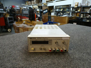 Hp Agilent E3620a Dual Output Dc Power Supply For Parts Or Repair