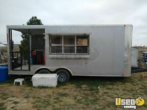 2017 8 5 X 18 Beverage Concession Trailer With Porch For Sale In Texas