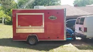 2015 6 X 12 Food Concession Trailer For Sale In Tennessee