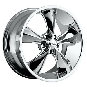 Cpp Foose F105 Legend Wheels 17x9 Fits Plymouth Belvedere Fury Gtx