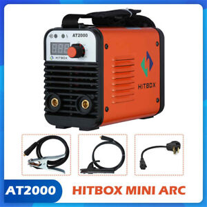 Arc Welding Machine Rod Stick 110 220v Dual Volt Portable Inverter Arc Welder