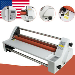 Singel dual Four Rollers Hot Cold Roll Laminating Machine 110v Latest Version