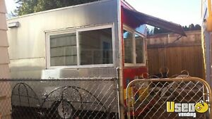6 X 12 Food Concession Trailer For Sale In Oregon