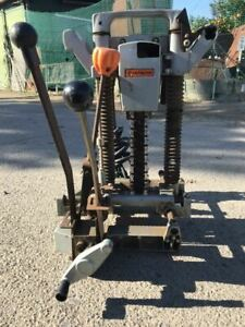 Hitachi Cb20a Electric Chain Mortiser Cb 20a 100v Working Used