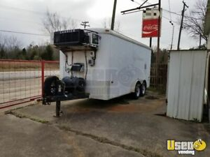 8 X 16 Refrigerated Trailer For Sale In Texas