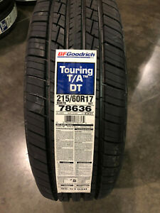 2 New 215 60 17 Bfgoodrich Touring T A Tires