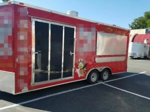2015 8 X 20 Bbq Concession Trailer For Sale In South Carolina