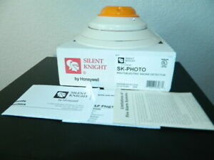 New Silent Knight Sk photo Photoelectric Smoke Detector Fire Alarm