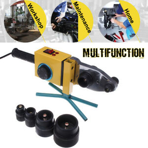 Auto Dual Heat Electric Heating Ppr Pe Pp Tube Pipe Welding Machine