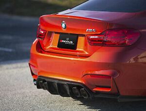 Remus Axle Back Exhaust With 102mm Cf Tips For Bmw M3 m4 F8x