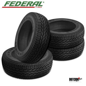 4 X New Federal Couragia A T P265 70r16 112s On Off Road Tire