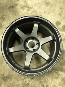 Bmw E46 E9x M3 Volk Racing Te37 Style Wheel Rim Rear 19x10 5 Et20