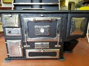Wehrle Stove Black Wood Burning