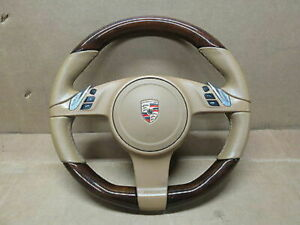 Porsche Panamera Turbo 970 Multifunction Heated Wood Steering Wheel