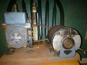 Welch Scientific Duo Seal Vacuum Pump Ge A c Motor H p 1 3 Rpm 1725 115v