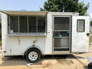 6 X 12 Food Concession Trailer For Sale In Georgia