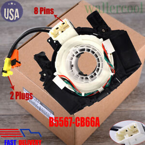 New Clock Spring Airbag Spiral Cable B5567 Cb66a For Nissan Versa Murano Rogue