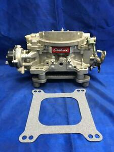 Rebuilt Edelbrock Marine 600 Cfm Carburetor With Electric Choke