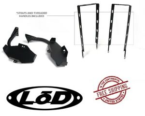 Lod Xpedition Series Jerry Can Mount Set Black Pc 87 95 Jeep Wrangler Yj