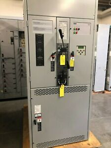Asco 1600a Transfer Switch 4 Pole Series 7000