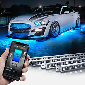 Led Underglow Bluetooth Enabled Lighting Kit Opt7 Aura Pro All Color
