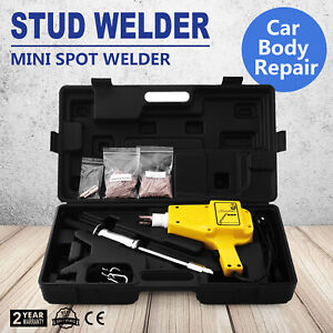 Auto Stud Welder Starter Kit Hammer Gun 4550 Nails Trigger Dent Repair