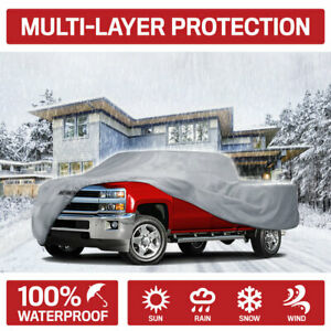 Motor Trend Multi layer Pickup Truck Cover For Ford F 150 Super Cab extended Cab