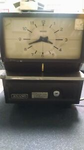 Amano Mechanical Time Recorder Time Clock