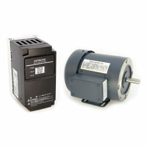 1 4 Hp 230vac Ac Motor And Variable Frequency Drive