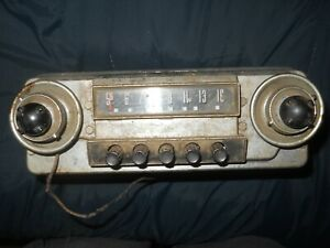 Vintage Ford Car Tube Am Radio Stereo F M Co Tube Fmco Fomoco
