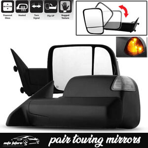 Power For 02 08 Dodge Ram 1500 03 09 2500 3500 Towing Mirrors Heated Left right