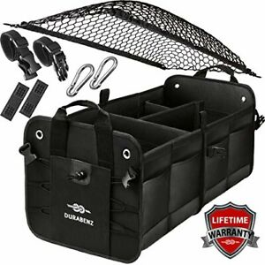 Car Trunk Organizer Suv Truck Sedan Jeep Cover Net Collapsible Cargo Storage