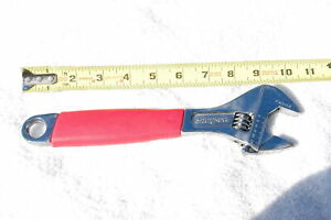 Snap On fadh10 10 Inch Flank Drive Plus Adjustable Wrench Red Handle