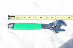Snap On Fadh10g 10 Inch Flank Drive Plus Adjustable Wrench Green Handle