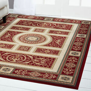 Free S H Red Round 8 X 8 Persien Area Rug Oriental 8307 Actual 7 10 Round