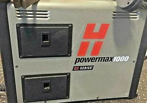 Hypertherm 60a Plasma Cutter G3 Series Powermax1000