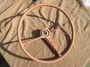 Vintage 19551956 Chevy Belair Steering Wheel 55 56