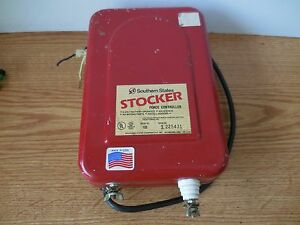 Southern States Stocker Electric Fence Controller Requires 6v Battery 10 Mile
