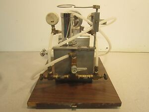 Glen Mills Inc Laboratory Jet Mill Some Missing Pieces Overall Nice Condition